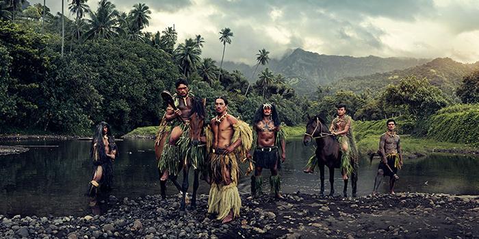 Река Вайоа, Маркизские острова, Французская Полинезия.